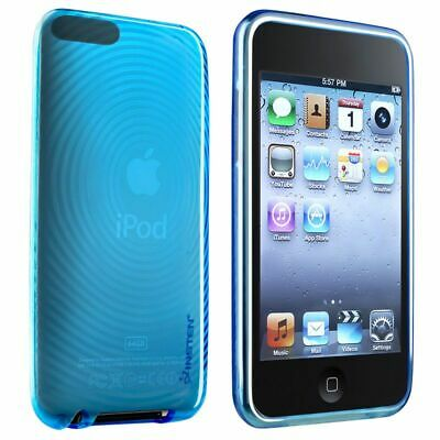 BLUE CRYSTAL SOFT GEL Case Skin Cover For Apple iPod TOUCH 2G 2nd 3G 3rd Gen New