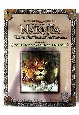 Disney The Chronicles of Narnia The Lion The Witch & The Wardrobe 4 Disc Edition