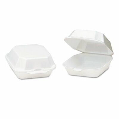 Foam Hinged Medium Sandwich Containers, 500 Containers (GNP22400)