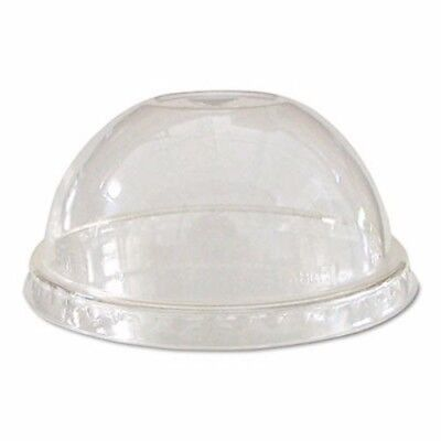 Eco-products Compostable Cold Drink Cup Lids, Dome, Clear, 1000/Ctn (ECOEPDLCC)