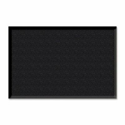 "Genuine Joe Wiper/Scraper Mat, 3""x5"", Charcoal Black (GJO02402)"
