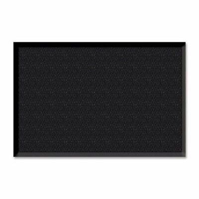 "Genuine Joe Wiper/Scraper Mat, 4""x6"", Charcoal Black (GJO02404)"