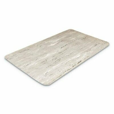 Crown Cushion-Step Mat, Rubber, 36 x 60, Marbleized Gray (CWNCU3660GY)