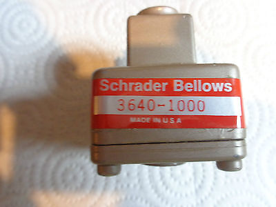 Schrader Bellows 3640 1000 Quick Exhaust Valve
