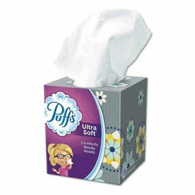 Puffs 35038 Ultra Soft & Strong 2-Ply Facial Tissues, 24 Boxes (PGC35038)