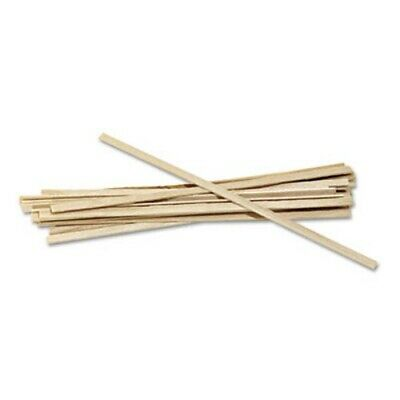 Wood Coffee Stirrers, 5-1/2in Length, Birch Wood, 1000 Stirrers (RPPR810CT)