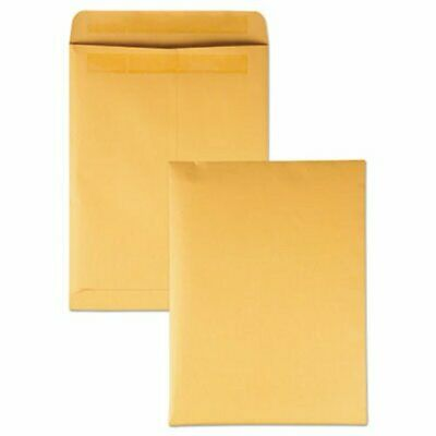 Quality Park Redi-Seal Catalog Envelope, 9 x 12, Brown Kraft, 250/Box (QUA43562)
