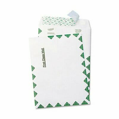 Survivor Tyvek USPS First Class Mailer, Side Seam, 6 x 9, Wht, 100/BX (QUAR1330)