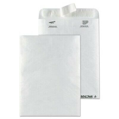 Survivor Tyvek Mailer, Side Seam, 9 x 12, White, 50/Box (QUAR1462)