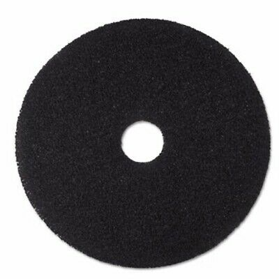 "3M Black 20"" Floor Stripping Pad 7200, 5 Pads (MMM08382)"