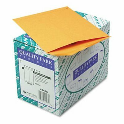 Quality Park Catalog Envelope, 9 x 12, Brown Kraft, 250/Box (QUA41465)