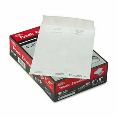 Survivor Tyvek Mailer, Side Seam, 6 x 9, White, 100/Box (QUAR1320)