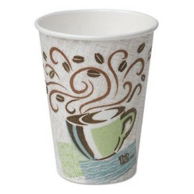 Dixie 5342 PerfecTouch 12-oz. Insulated Paper Hot Cups, 1,000 Cups (DIX 5342CD)
