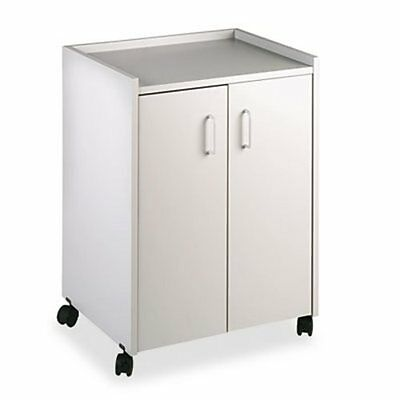 Safco Mobile Refreshment Center Cart, 1-Shelf, 23w x 18d x 31h, Gray (SAF8953GR)