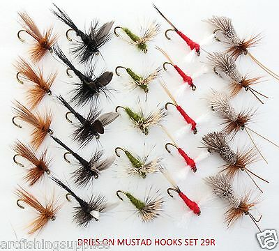 BN Trout Flies 25 traditional scottish DRY FLIES S29R FOR reels rods line