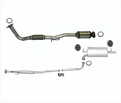 Accord LX DX SE 2.2L Front Exhaust Pipe Must Check Emission Label