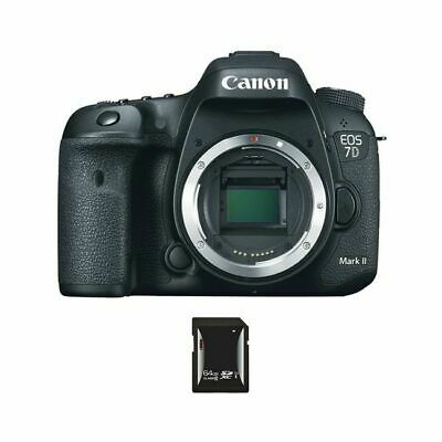 Canon EOS 7D Mark II 20.2MP Digital SLR Camera w/64GB SDXC Card