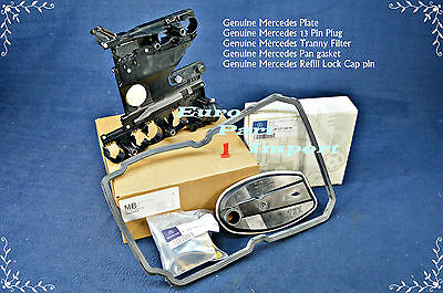 Mercedes Transmission Conductor Plate + Connector + Filter + Gasket + Lock Clip