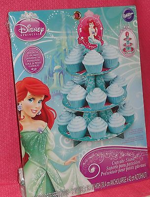 Ariel,Little Mermaid, Cupcake/Treat Stand,Cardboard,Wilton,Teal 1512-4355