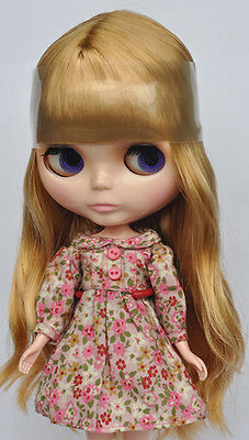 "Takara 12"" Neo Blythe Golden Hair Nude Doll from Factory TBO128"