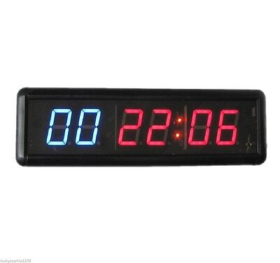1.8'' Digital High Crossfit LED Interval Timer Countdown Training and Rest Time