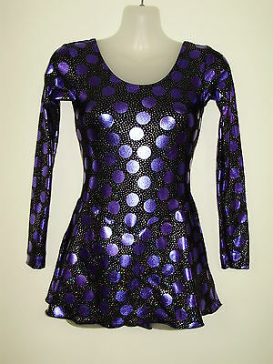 ICE SKATING / DANCE COSTUME Girls SIZE 12 NEW DS Designs