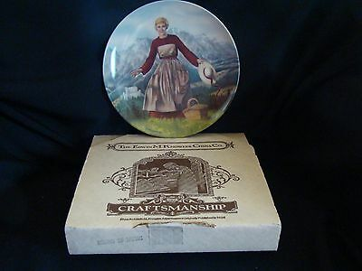 """Knowles Collector's Plate """"The Sound of Music"""" With Box & COA 1986"""