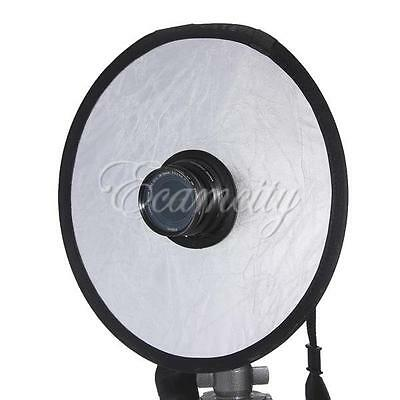 """Photography 12"""" Disc 2in1 Studio Light Multi Collapsible Hollow Reflector"""