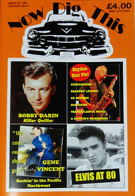 Now Dig This Magazine Issue 382 - 1950s Rock 'n' Roll - Gene Vincent - Elvis