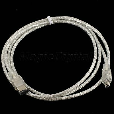 5FT Firewire 4-pin male to 6-pin male IEEE 1394 Digital i.Link Adapter Cable