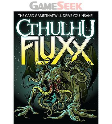 Cthulhu Fluxx - Games/puzzles Card Games Brand New Free Delivery