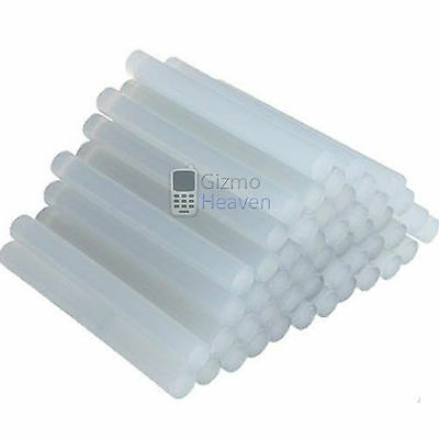 50 X 11MMx100MM GLUE STICKS FOR HOT MELT GUN GENERAL PURPOSE CRAFT ADHESIVE