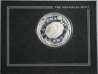 1985 British Virgin Islands Franklin Mint Silver $20 Dollars Saint Proof Coin