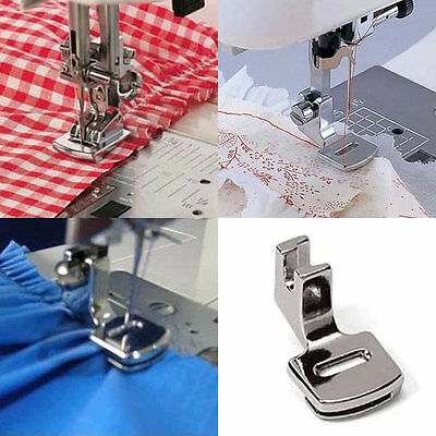 Ruffler Hem Presser Foot Feet Kit For Sewing Machine Singer Janome Juki