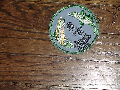 knights of colombus  sport fishing ,patch, 60's