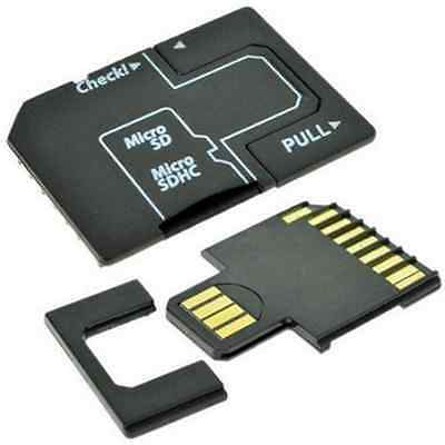 Magic Micro SD TF to SD Memory Card to USB Flash Disk Adapter Card Adapter