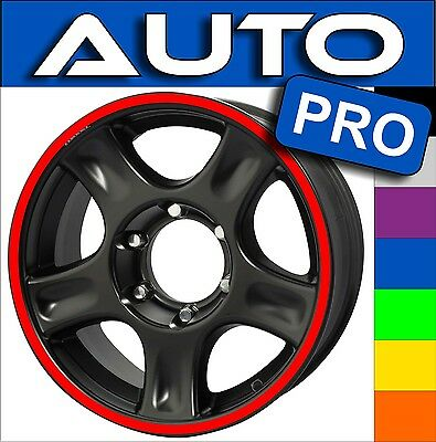 LISERET JANTE AUTO RIMS STRIPES CINTAS ADESIVI for all car 40 COLORS