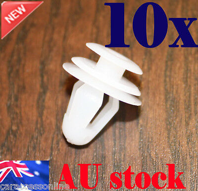 Car Door Panel Trim Fastener Clips Interior Universal Plastic 10pcs