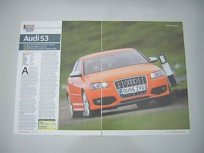Audi S3 Road Test from 2007 - Original