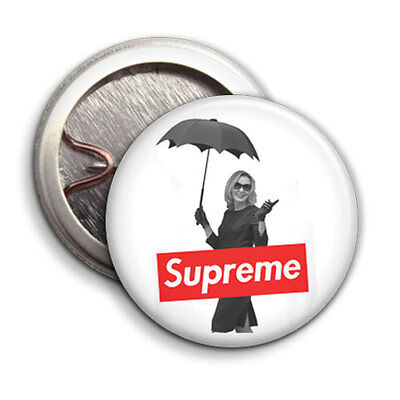 SUPREME - American Horror Story Coven Parody - Button Badge - 25mm 1 inch