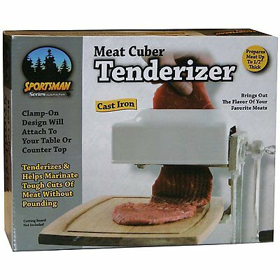 New Sportsman SM07492 Meat Tenderizer Cuber Manual Kitchen Cooking Tool Tools