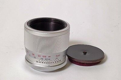 F2735~ Leica ZOOAN Focusing Mount for 135mm Hektor Lens and Visoflex
