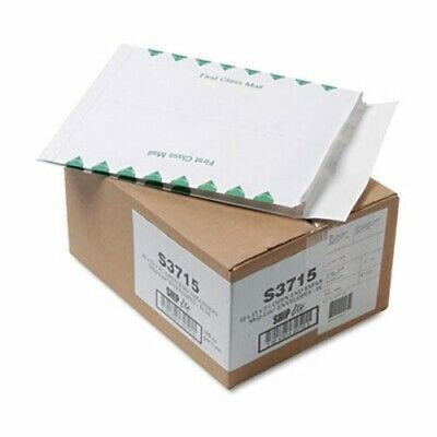 Redi-Flap Expansion Mailer, 1st Class, 10 x 13 x 1 1/2, 100 per Box (QUAS3715)