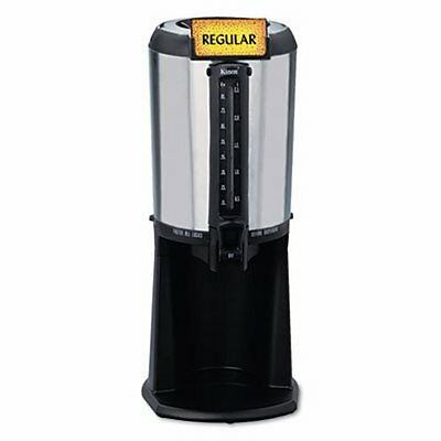 Hormel Thermal Beverage Dispenser, 2.5 Liter, Stainless Steel/Black (HOR410225)