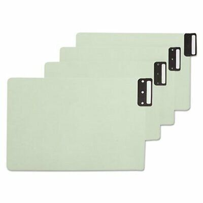 Smead End Tab Guides, Vertical Metal Tabs, Pressboard, Legal, 50/Box (SMD63235)