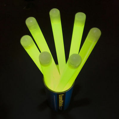 """New 12"""" JUMBO Thick Glow Sticks Lights for Party GREEN"""