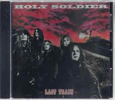 Holy Soldier-Last Train CD Christian Rock/Metal RARE (Brand New-Factory Sealed)