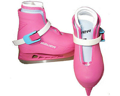 Bauer Lil angel beginner ice skates girls/youth toddler sizes from 6-13 (New)