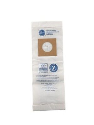 Genuine Hoover Type Z--3 Pack Vacuum Cleaner Bags-- 4010075Z