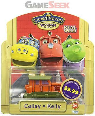 Chuggington Wooden Calley - Toys Brand New Free Delivery